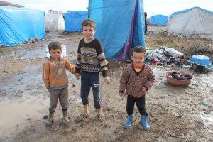 Suriye'lilerin Soğukla mücadel