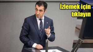 Türk vekil Özdemir Ermeni rozetiyle konuştu