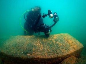 Van Gölü'nün altında tarih bulundu