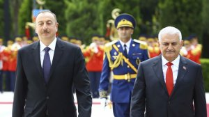 Yıldırım ve Aliyev'den ortak Almanya mesajı