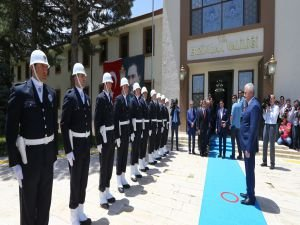 Başbakan Yıldırım, Erzincan Valiliği'ni ziyaret etti