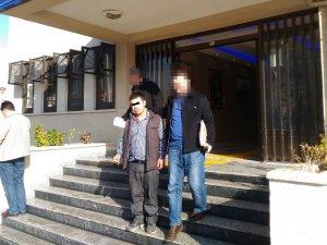 Camide hırsızlıktan bir kişi tutuklandı