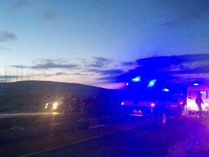 Mardin'de zincirleme kaza: 9 Yaralı
