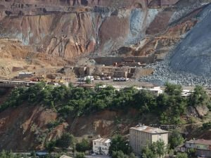 Maden ilçesi göçük tehlikesiyle karşı karşıya
