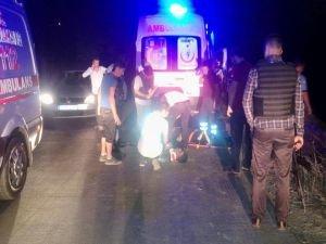 Trafik kazası:5 yaralı