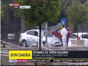 İstanbul'da polise bombalı saldırı