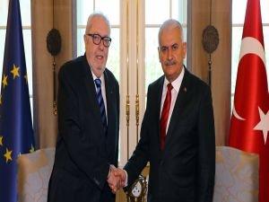 Başbakan Yıldırım, AKPM Başkanı ile görüştü