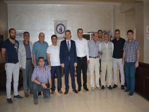 Vali Çelik gazetecilere veda ziyaretinde bulundu