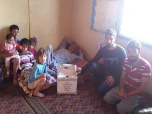 Öğrencilerden mağdur ailelere ramazan yardımı