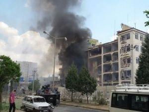 Midyat Emniyetine bombalı saldırı