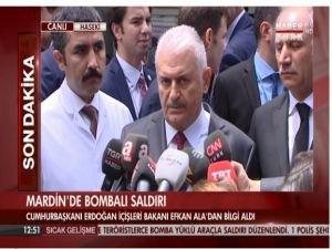 """Başbakan Yıldırım: """"Katil PKK'dır"""""""