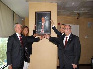 Mustafa Özman'ın adı EİB'de ölümsüzleşti
