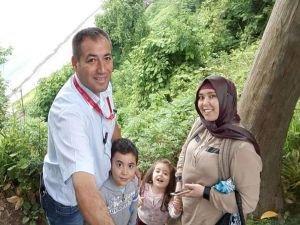 Eşini ve çocuklarını öldürdükten sonra intihar etti
