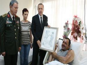 Cumhurbaşkanı Erdoğan'dan süpriz ziyaret