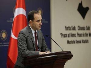 Yunanistan'ın açıklamalarına Dışişleri Bakanlığı tepki gösterdi