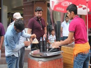 Ramazan şerbeti tezgâhlarda yerini aldı