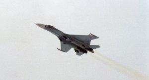 Moskova'da Su-27 uçağı düştü
