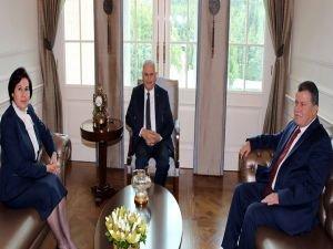 Başbakan Yıldırım, Yüksek Yargı Başkanlarıyla görüştü