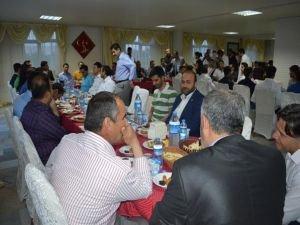 Kardeşlik Platformu Cizre'de iftar programı düzenledi