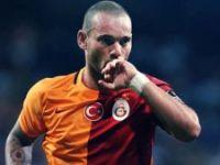 Cimbom'da Wesley Sneijder sevinci