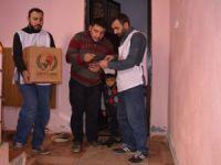Avrupa Yetim Der'den Cizreli mağdur ailelere yardım