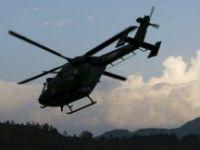 1 Ton Bomba yüklü araç helikopterlerle vuruldu