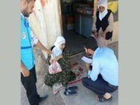 Diyanet Vakfı Mardin'de kurban eti dağıttı