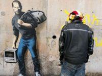 Banksy'nin görüntülendiği iddia edildi