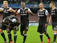 Beşiktaş, Napoli'yi dağıttı