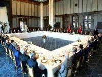 Cumhurbaşkanı Erdoğan, Bölge kanaat önderleriyle bir araya geldi