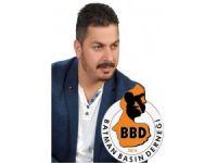 BBD Başkanı Uyanık, Dünya Gazeteciler Günü'nü kutladı