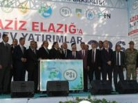 Bakan Eroğlu Elazığ'da 8 proje açılışını gerçekleştirdi