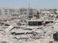 Halep'te ordu mevzilerine saldırı