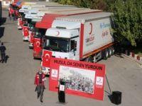 Kızılay'dan Musul'a 20 TIR dolusu insanı yardım!