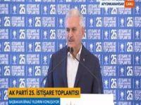 Başbakan Yıldırım, AK Parti kampında konuşuyor