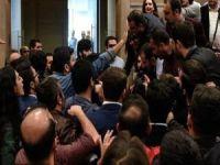 İstanbul Barosu Genel Kurul toplantısında yumruklar konuştu