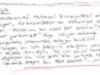 FETÖ'cülerin kaldığı cezaevinde dikkat çeken not