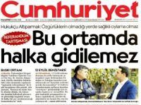 Cumhuriyet Gazetesi'ne Bak!