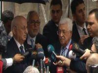 Filistin Devlet Başkanı Abbas TBMM'de!