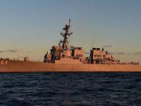 ABD destroyeri Carney Karadeniz'e girdi