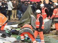 'Vahşi Orman' olarak adlandırılan sığınmacı kampı yıkımına başlandı