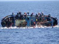 Libya'da göçmenleri taşıyan tekne battı!