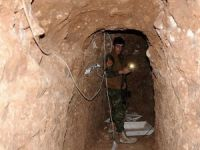 Musul'da IŞİD'in büyük tünel ağı tespit edildi