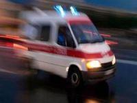 Engelli çocukların servisi ile iş makinesi çarpıştı: 14 yaralı