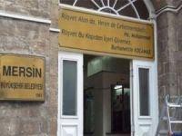 Mersin Büyükşehir Belediyesine operasyon