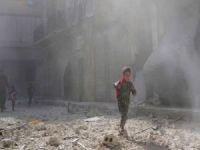 Halep'de yoğun bombardıman