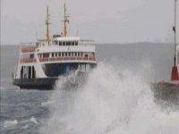İstanbul'da vapur seferleri iptal oldu