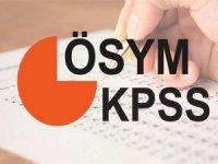 KPSS başvuru ve sınav tarihleri belli oldu