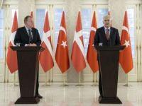 Başbakan Yıldırım, Rasmussen ile ortak basın toplantısı düzenledi