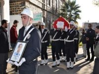 Polis Süleyman Sonkut Siverek'te defnedildi